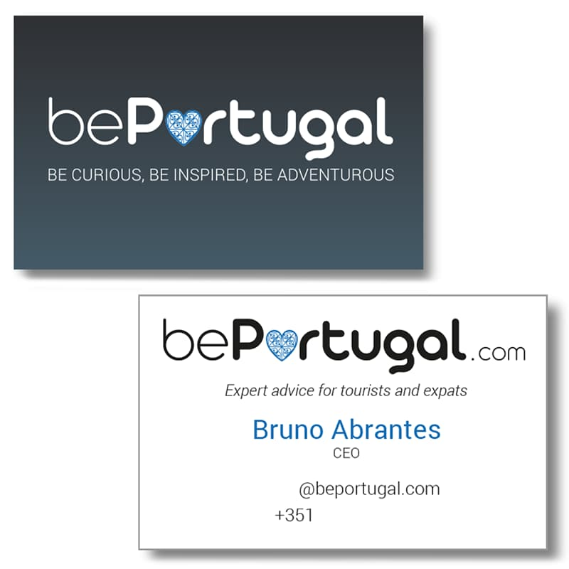 bePortugal business cards