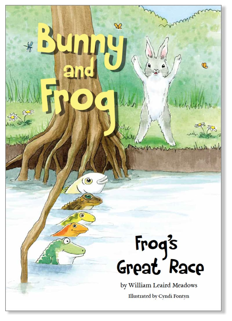Page from Frog's Great Race